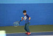 U8 Swing School tennis tournament