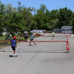Outdoors tennis lessons Vaughan, King City